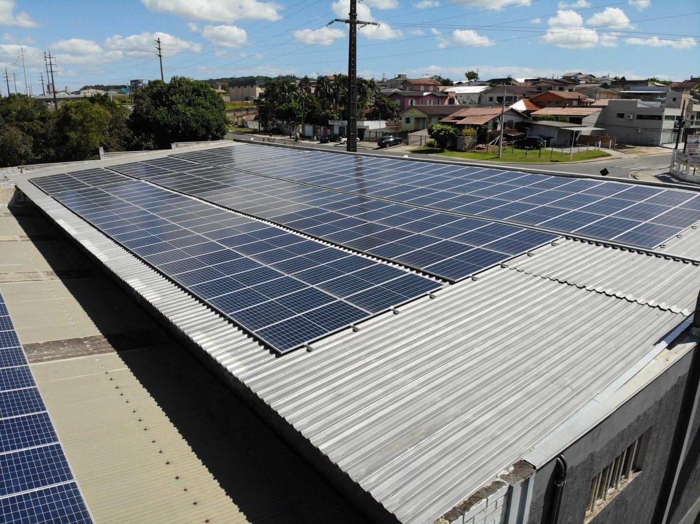 Geração remota de de energia solar fotovoltaica para hotel em Criciúma Santa Catarina